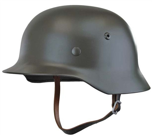 Reproduction M35 German Helmet Hessen Antique