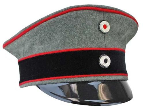 Imperial German Specialist Officer Visor Cap from Hessen Antique