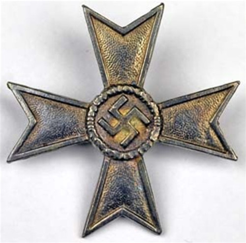 WWII War Merit Cross Medal Without Swords from Hessen Antique