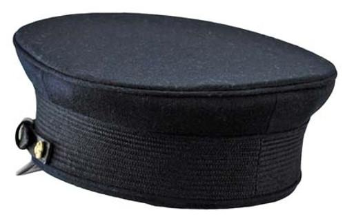 Imperial German Naval Officer Dress Visor Cap from Hessen Antique