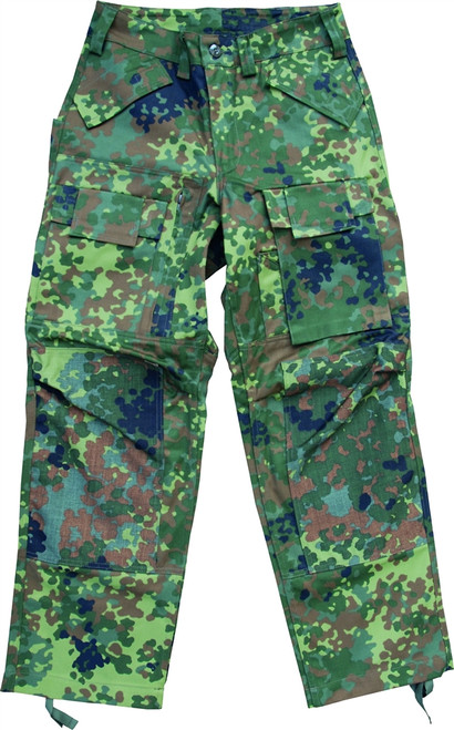 Köhler Combat Pants - Flecktarn from Hessen Antique