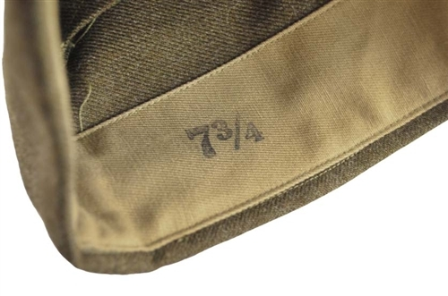 Repro WWII GI Infantry Wool Garrison Cap from Hessen Antique