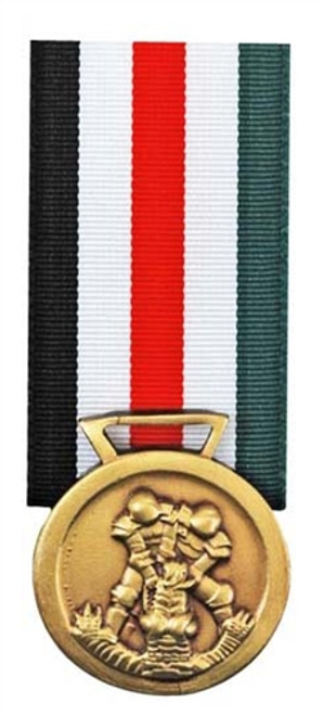 Italo-German Campaign Medal from Hessen Antique