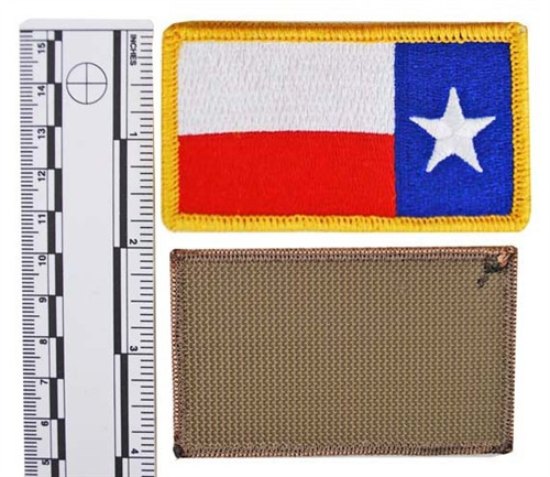 FULL COLOR TEXAS STATE GUARD FLAG (Reverse) from Hessen Antique