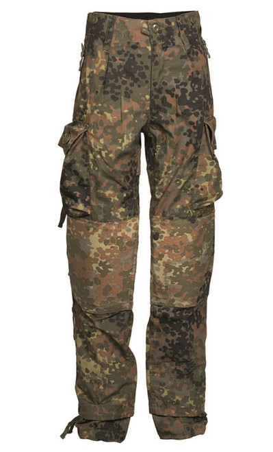 Flecktarn Commando Pants - Ripstop from Hessen Antique