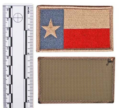 SUBDUED TEXAS STATE GUARD FLAG from Hessen Antique
