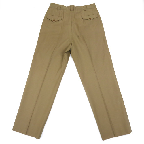 WWII U.S. Army Officer's Tropical Weight Summer Service Trousers Sz.34 from Hessen Antique