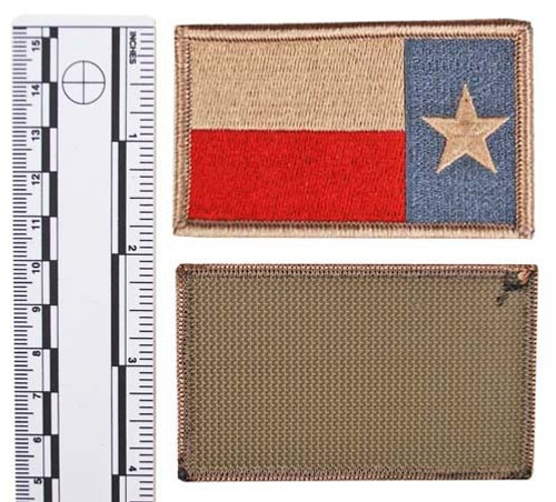 SUBDUED TEXAS STATE GUARD FLAG (Reverse) from Hessen Antique