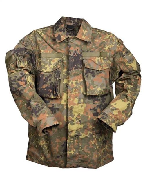 German Flecktarn Commando Smock Shirt Gen. II from Hessen Antique Militaria