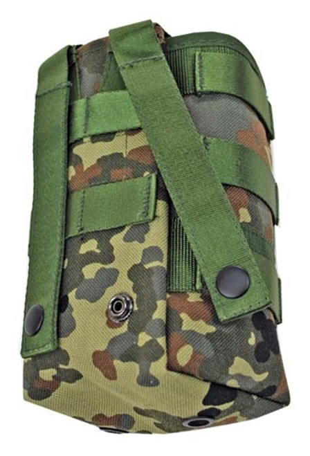 TACGEAR: Flecktarn Water Bottle Pouch from Hessen Antique