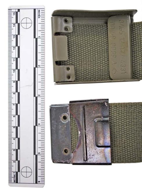 Bundeswehr Combat Belt from Hessen Antique