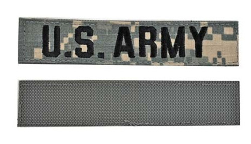 ACU U.S. ARMY BRANCH TAPES - With Velcro(r) from Hessen Antique