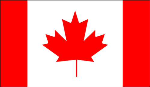 National Flag Of Canada from Hessen Antique