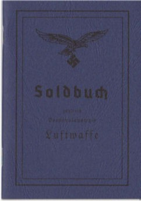German Soldbuch - Luftwaffe