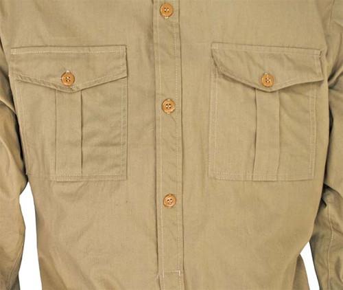 LW DAK Tropical Service Shirt from Hessen Antique