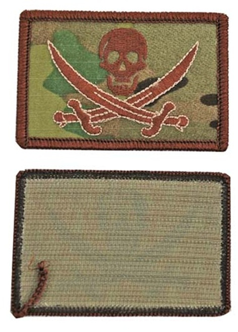 MultiCam Calico Jack Flag Patch with Hook Fastenersfrom Hessen Antique