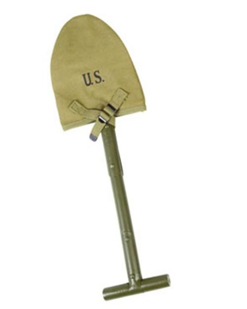 GI 1910 T-Handle Shovel from Hessen Antique