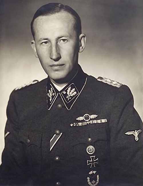 SS Obergruppenführer Reinhard Heydrich Ribbon Bar from Hessen Antique