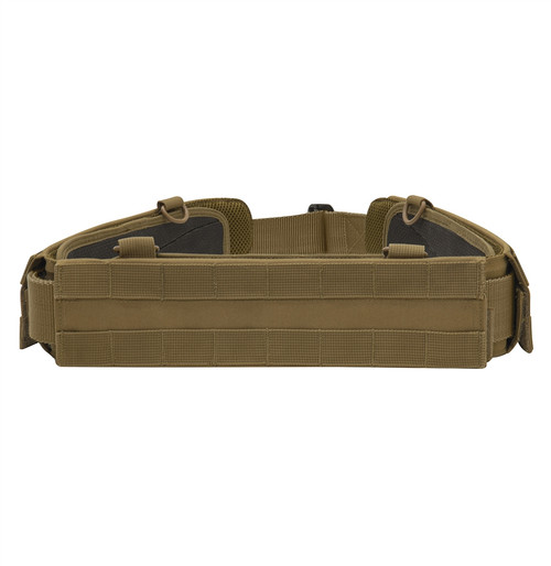 MOLLE Lightweight Low Profile Tactical Battle Belt - Coyote