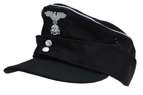 Waffen SS Panzer Officer M43 Field cap from Hessen Antique