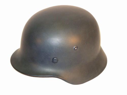 Original repainted German M35 Steel Helmet from Hessen Antique