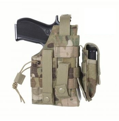 MOLLE Modular Ambidextrous Holster- MultiCam from Hessen Antique