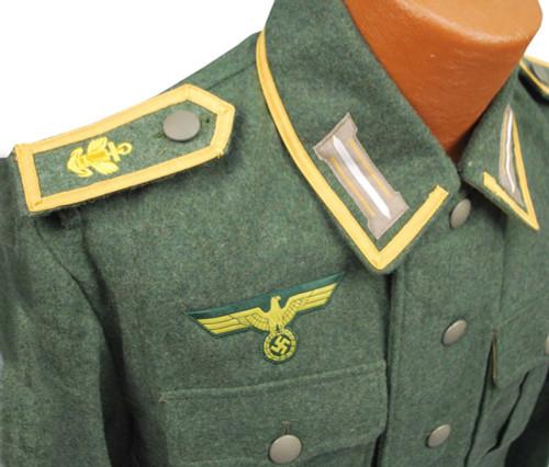 KM M40 Costal Artillery NCO Wool Jacket from Hessen Antique