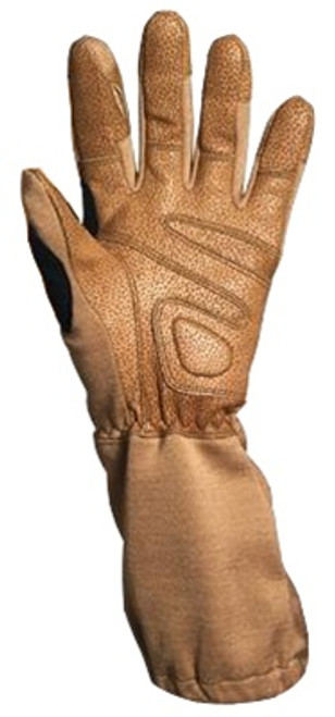 Special Forces Khaki Tactical Gloves from Hessen Antique