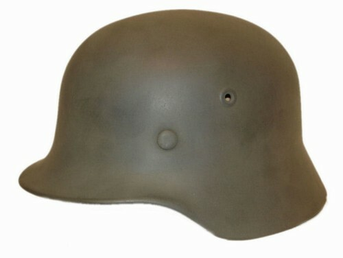 Original refurbished German M40 Steel Helmet from Hessen Antique