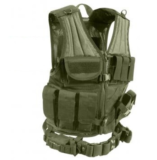Tactical load bearing vest specifically designed for use with new MOLLE gear. MOLLE FIELD VEST in ACU digital camouflage. This vest lets you configure your gear the way you like and keep it that way. MILSPEC materials and construction.