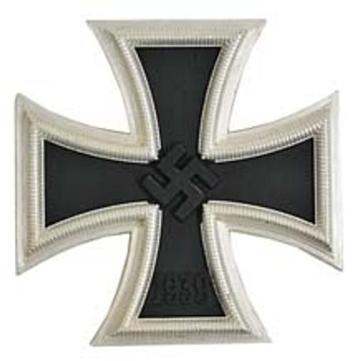 Iron Cross 1st Class (Eisener Kreuz 1. Klasse) from Hessen Antique