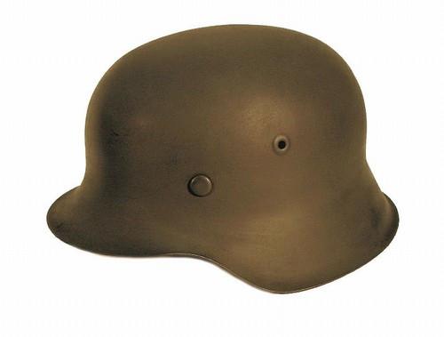 Refurbished original German M42 Steel Helmet from Hessen Antique