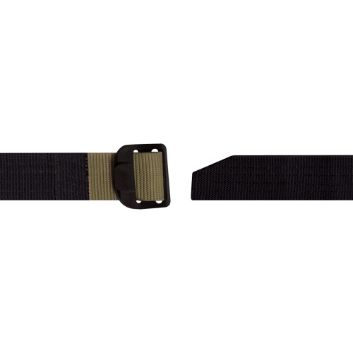 Reversible Airport Friendly Riggers Belt - Black / Coyote from Hessen Military