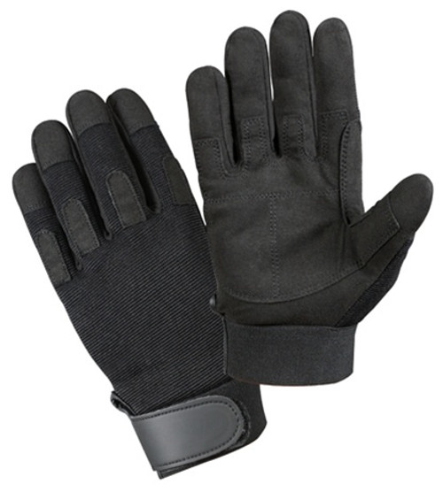 Black Lightweight Tactical Gloves from Hessen Antique