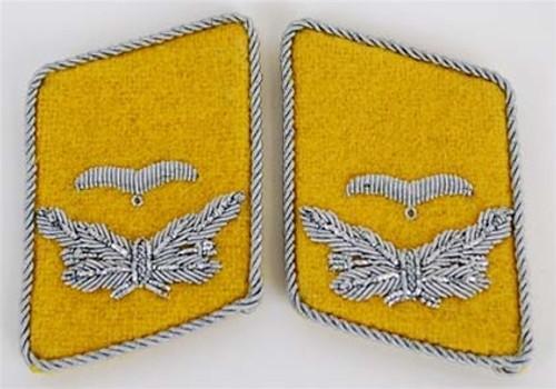 Luftwaffe Officer Collar Tabs