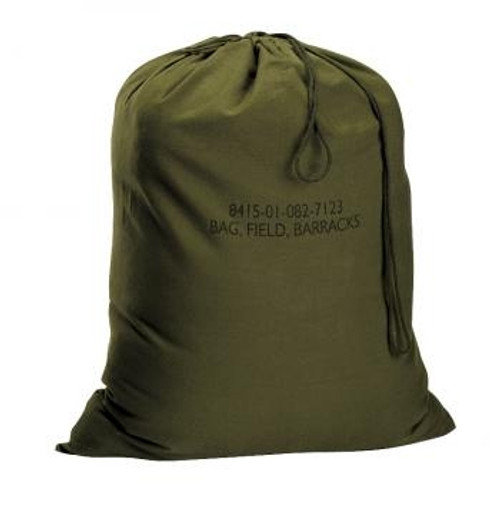 OD Barracks Bag from Hessen Antique