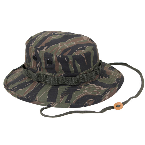 Boonie Hat - Tiger Stripe Camo from Hessen Tactical.