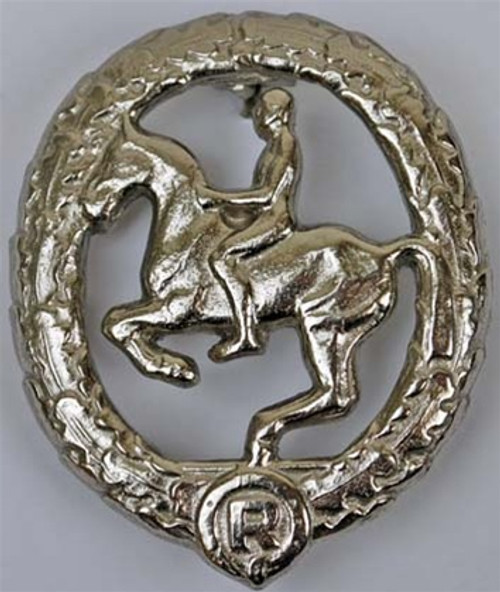 German Riders Qualification Badge - Silver  from Hessen Antique