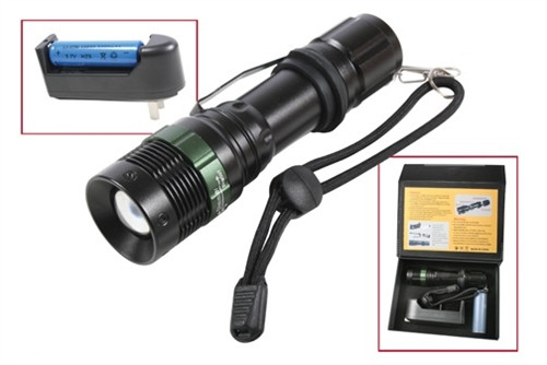 Rechargeable LED Flashlight from Hessen Antique