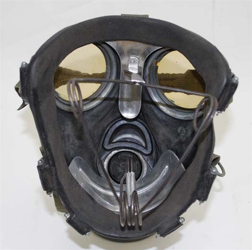 Reproduction Gas Mask Stretcher from Hessen Antique