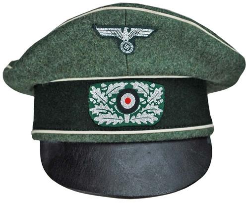 """WH""""Kleiderkasse"""" Infantry Crusher Cap   from Hessen Antique"""