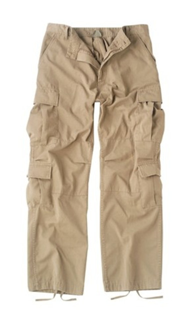 KHAKI VINTAGE PARATROOPER FATIGUES from Hessen Tactical