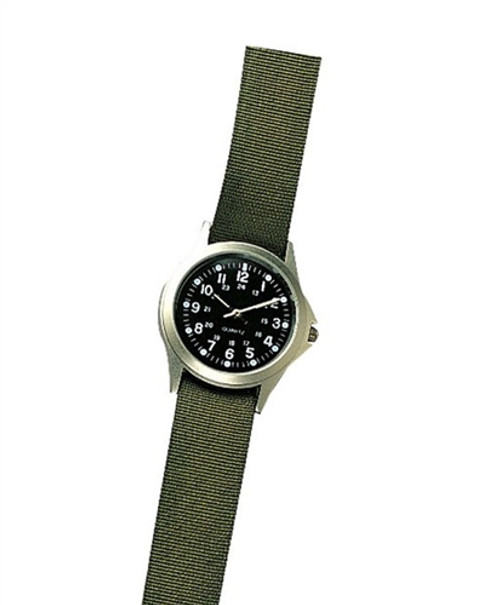 Military Style Quartz Watch from Hessen Militaria
