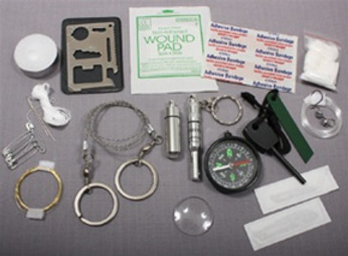 Stainless Steel Survival Kit from Hessen Antique