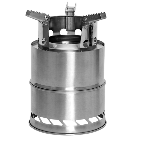 Stainless Steel Portable Camping / Backpacking Stove