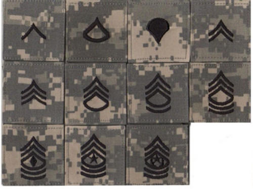 ACU RANK - VELCRO from Hessen Tactical