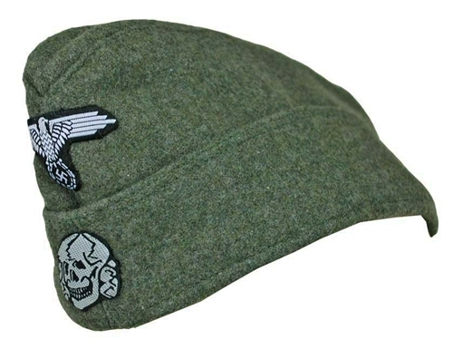 Waffen SS Enlisted M40 Field cap from Hessen Antique