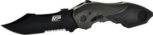 SMITH & WESSON MILITARY POLICE ASSISTED OPENING KNIFE