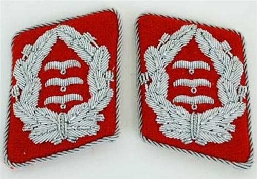 Luftwaffe Flak Officer Collar Tabs