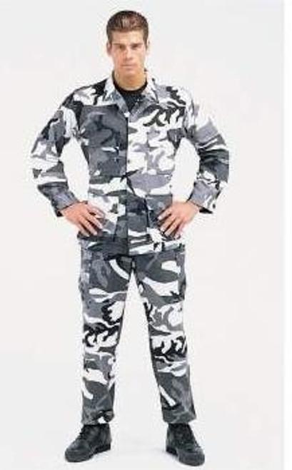 BDU Pants - City Camo from Hessen Tactical
